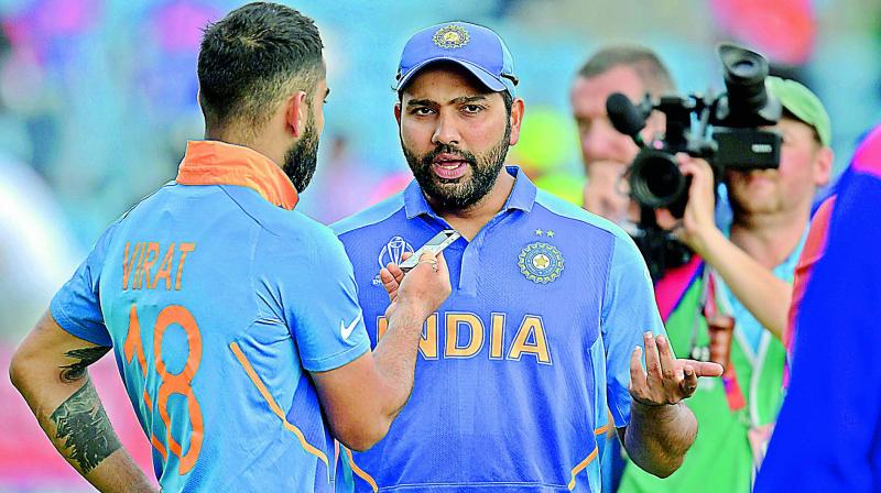 Rohit also successfully led the Men in Blue to clinch the Nidahas Trophy in Sri Lanka last year. (Photo: File)