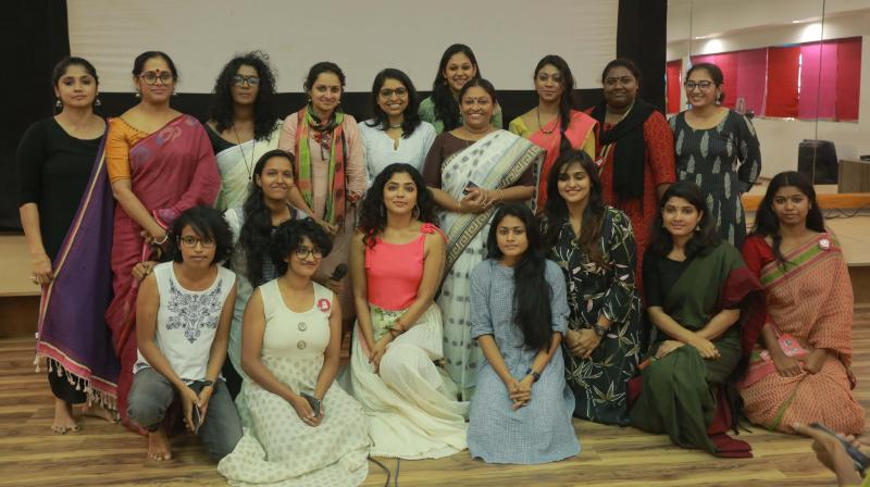 Woman directors with WCC members