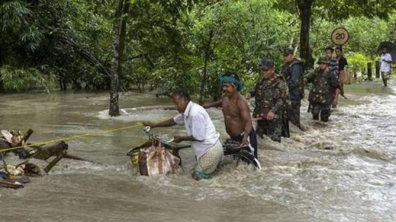 Assam flood situation worsens; one more dead,  2.6 lakh people affected (PTI)