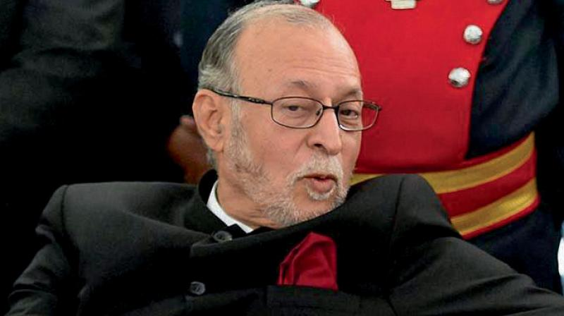 Baijal has been holding meetings with officers at the camp office at his residence, which is just behind the L-G Secretariat where Kejriwal and his three ministers have been staging the sit-in since Monday evening.  (Photo: File)