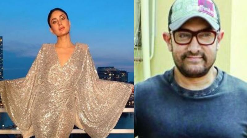 Kareena Kapoor and Aamir Khan.