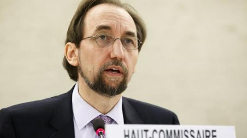 UN Human Rights Commission Chief Zeid Ra'ad Al Hussein. (Photo: AP)