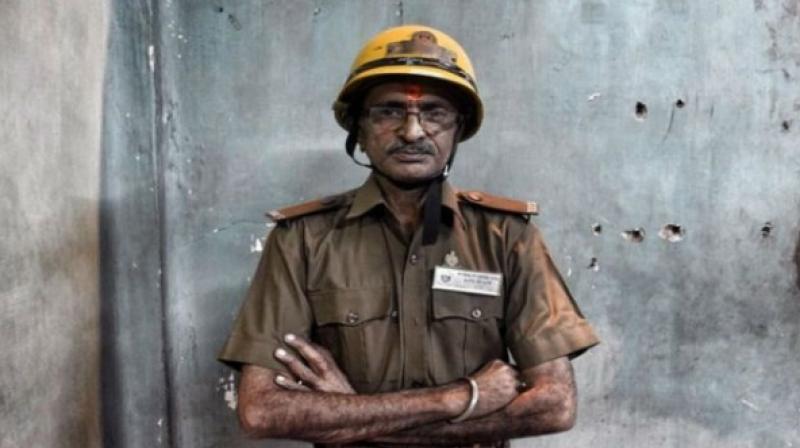 Bipin Ganatra is a 'voluntary' firefighter.