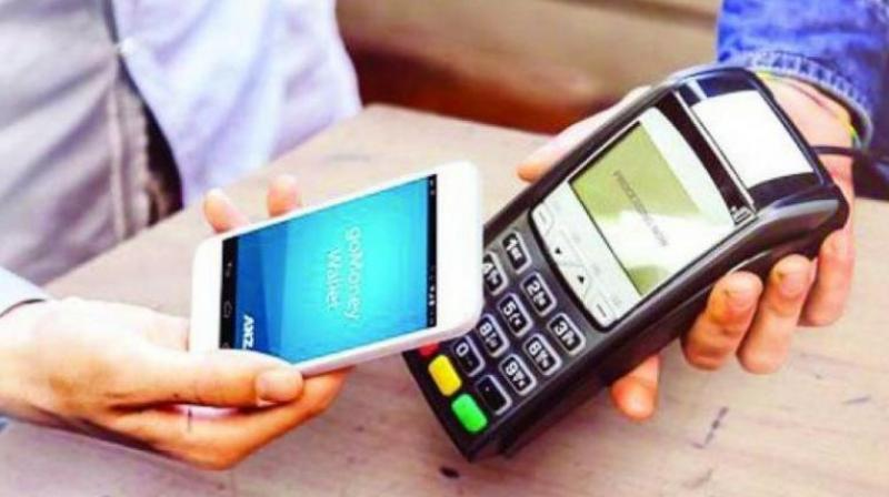 The core idea is that money in electronic wallet needs to be insured.