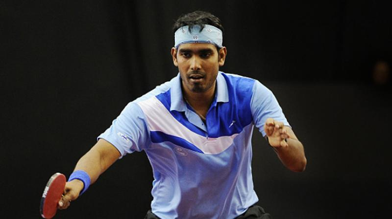 Sharath Kamal is a two-time Commonwealth Games gold-medallist. (Photo: AFP)