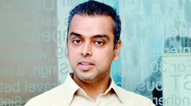 Congress leader Milind Deora