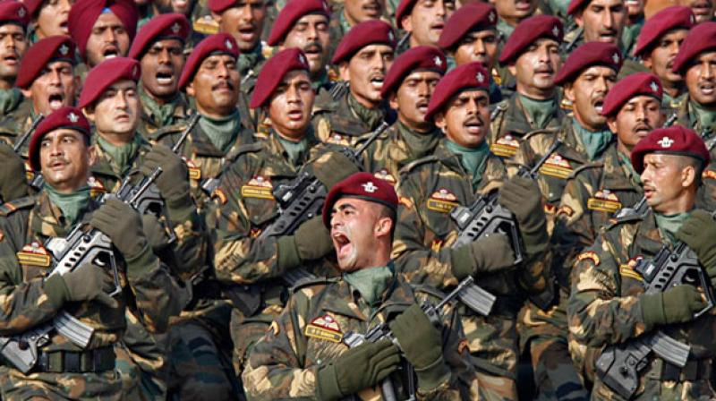 The Army has a total strength of around 12 lakh personnel and is one of leading ground force globally. (Photo: PTI/Representational)