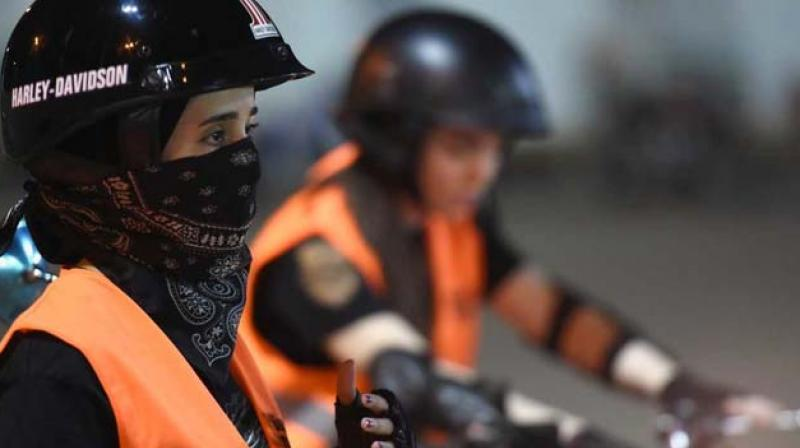 The most immediate worry for female motorists is the dress code which conflicts with the norm. (Photo: AFP)