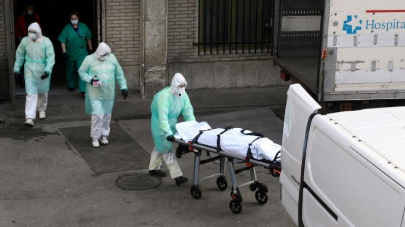 Spain outbreak is the world's second deadliest. (Photo- AFP)