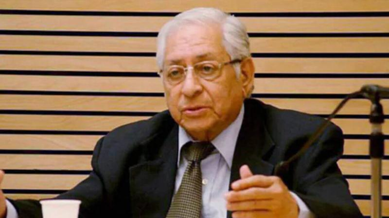 Former Attorney General and Constitutional law expert Soli Sorabjee. (PTI File)