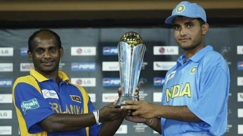 The tournament concluded with India and Sri Lanka being declared co-champions. (Photo: AFP)