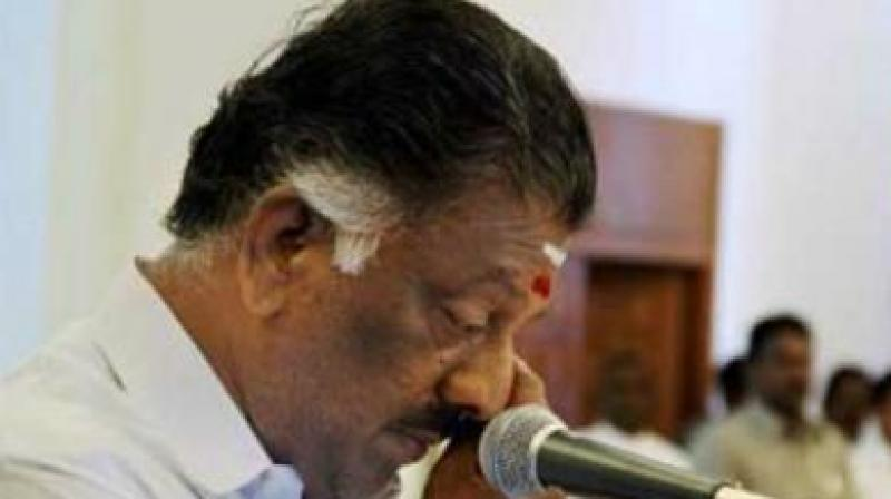 Panneerselvam, also Coordinator of the ruling AIADMK, expressed his sympathies with the families of those killed in