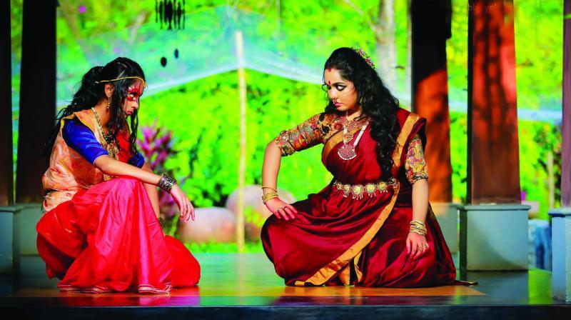 Wafa Jabbar and Athira Jayaraj in Vairam