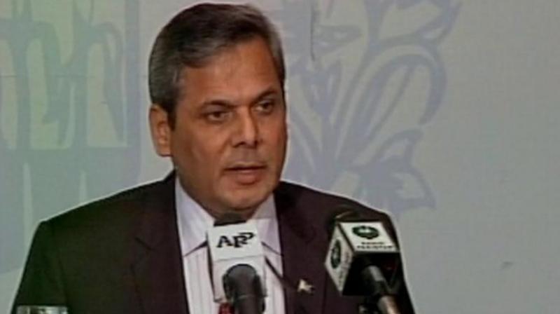 Pakistan's Foreign Ministry spokesman Nafees Zakaria. (Photo: ANI Twitter)