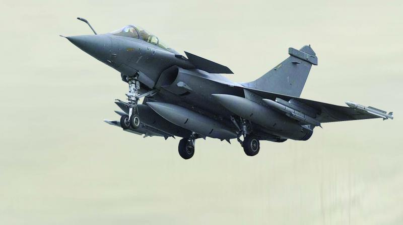 The Congress had used Modi government's purchase of 36 Rafale jets from French aerospace major Dassault Aviation for the IAF at a cost of `59,000 crore as one of the major issues in the 2019 Lok Sabha polls.