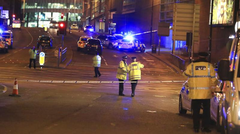 Ambulances and bomb disposal teams rushed to the venue, as worried family members searched for their loved ones. (Photo: AP)