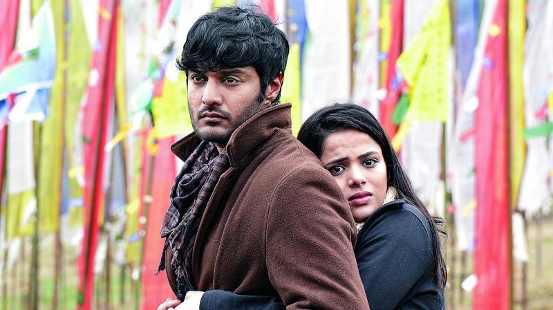 AbeRaam Varma and Kritika Garg from the film, Raahu