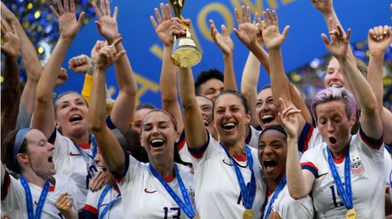 FIFA will double its funding for women's football to 1 billion USD over the next four years. (Photo:AFP)