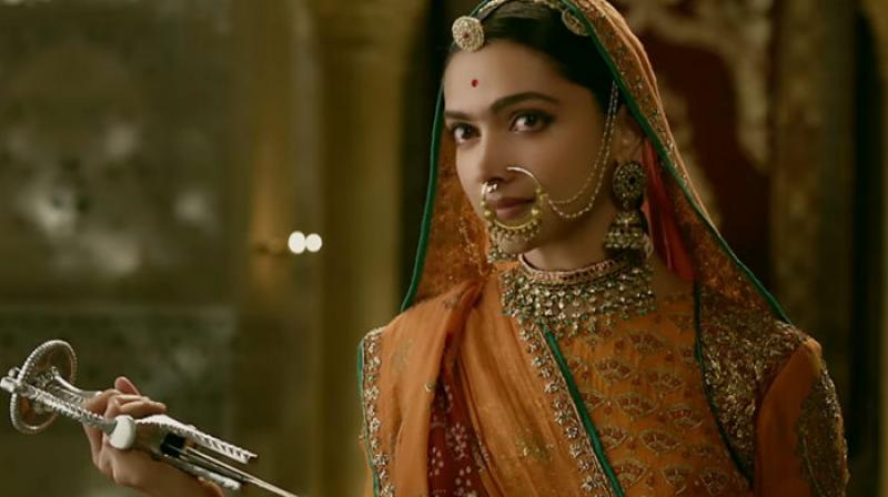 Deepika Padukone plays the lead character in 'Padmaavat.'