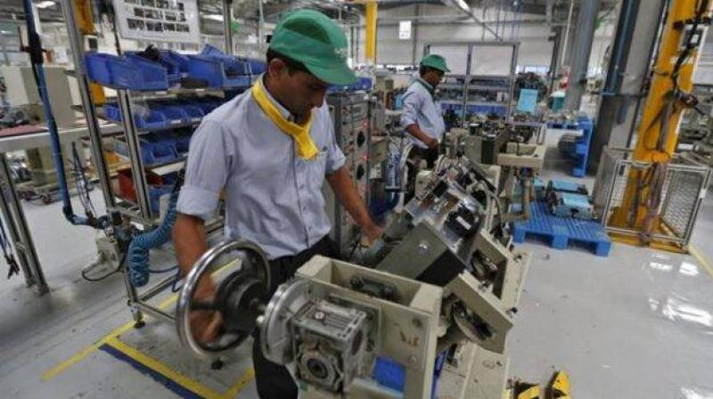 India's factory activity grows for first time in five months in August. (PTI Photo)