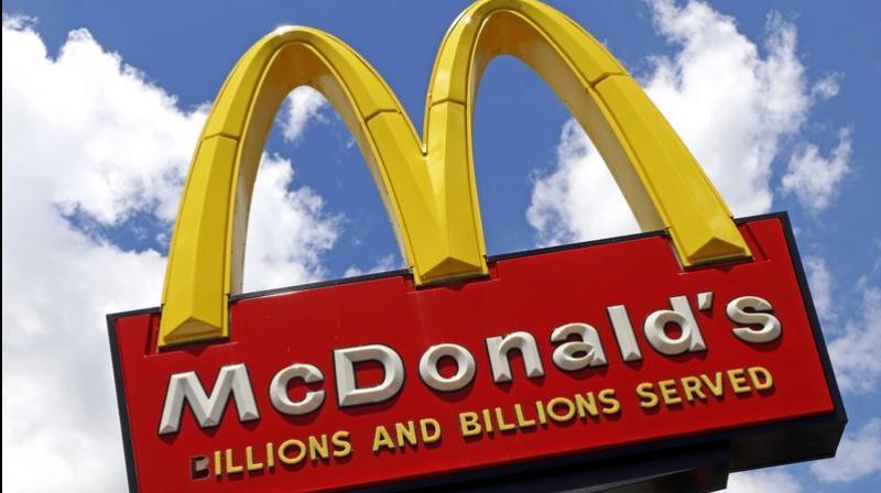 Black former franchisees sue McDonald's for discrimination. (AP Photo)