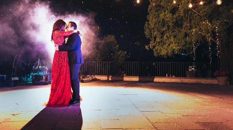 Surveen Chawla reveals she's married.