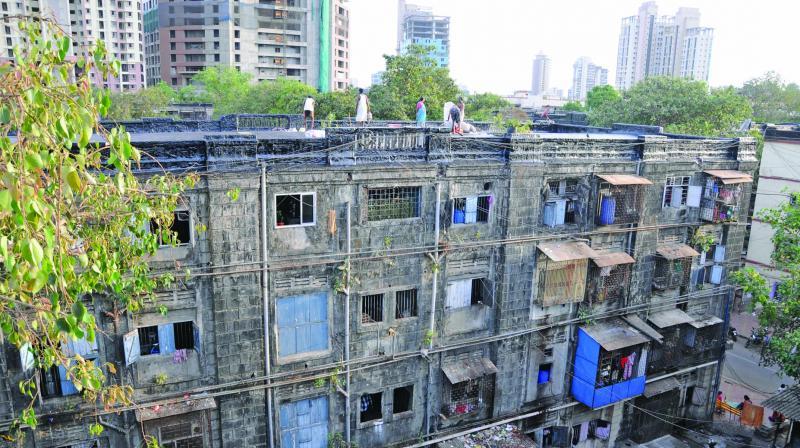 13,500 tenants reside in the BDD chawals.