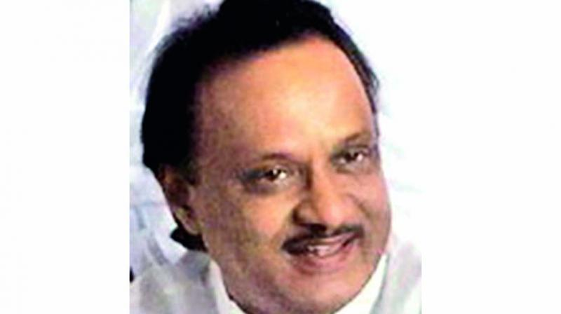 Nationalist Congress Party (NCP) leader Ajit Pawar