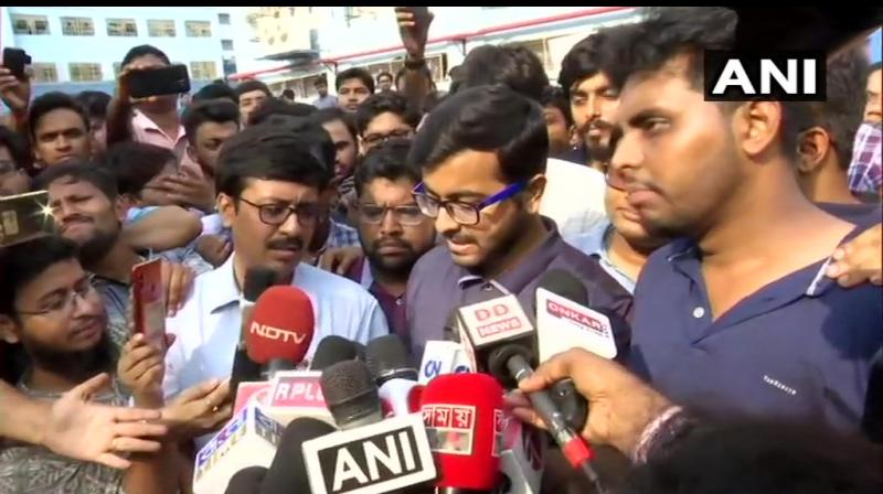 The spokesperson said the venue should be spacious enough to accommodate representatives from all medical colleges and hospitals in the state. Earlier, the agitators had insisted that Banerjee visit the NRS Medical College and Hospital, the epicentre of the agitation. (Photo: ANI)