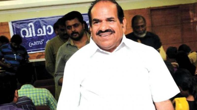 Balakrishnan, who addressed the media after a meeting of the party's state committee, said he came to know about the complaint only after a court sent a notice to his house in January. (Photo: PTI)