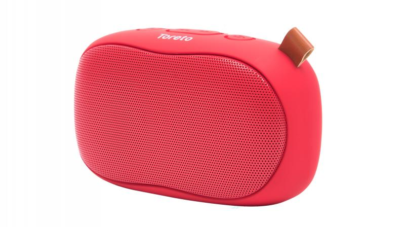 The newly launched speaker is available in four colour variants — Red, Green, Black and Gold.