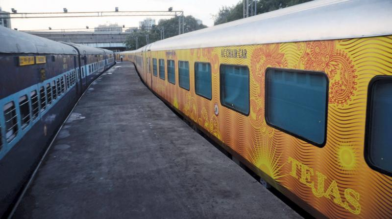 Passengers of IRCTC's Delhi-Lucknow Tejas Express to get free Rs 25 lakh rail travel insurance. The passengers of this train will also be given the facility of using retiring rooms at Lucknow junction station and executive lounge at New Delhi Railway station and lounge for meetings on demand, a document enumerating the operational details of the train said.