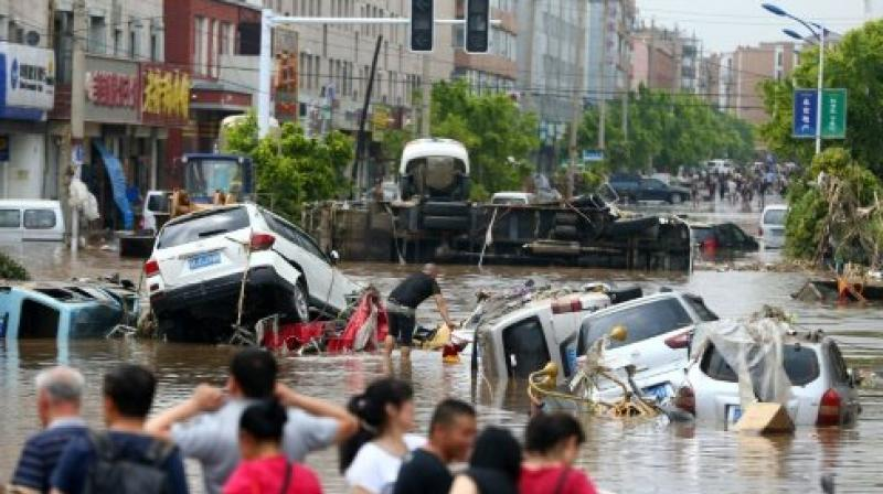 Several roads and bridges were also damaged. More than 1,000 people were dispatched to search for the missing people. (Photo: File)