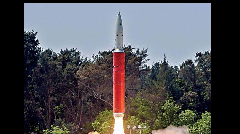 India used an indigenously developed ballistic missile interceptor to destroy one of its own satellites at a height of 300 km, in a test aimed at boosting its defences in space. (Photo: File)