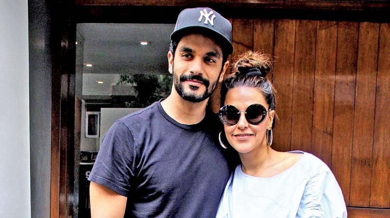 Neha Dhupia took everyone by surprise when she married beau Angad Bedi in a low-key ceremony recently.
