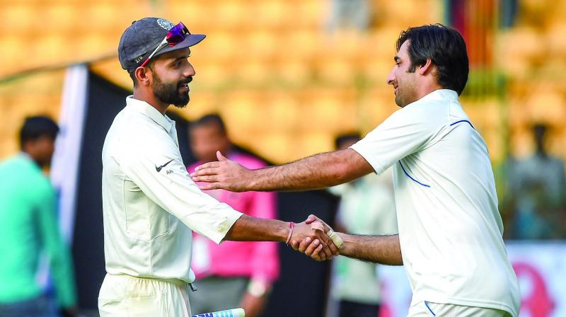 Rahane struggled for rhythm and runs, Pujara spent a fair amount of time before being dismissed for 35, while Karthik was run out in a misunderstanding with partner Pandya that would earn admonishment even in schools cricket.