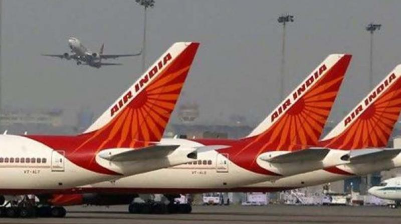 Almost 23 per cent of the Air India fleet is grounded for lack of spares.