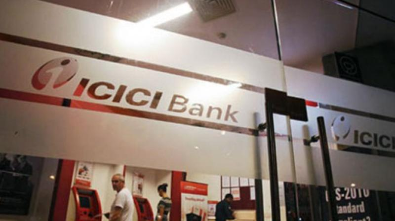 ICICI Bank shares soared nearly 9 per cent in intra-day trade on Thursday after the company denied media reports alleging covering up of bad loans.