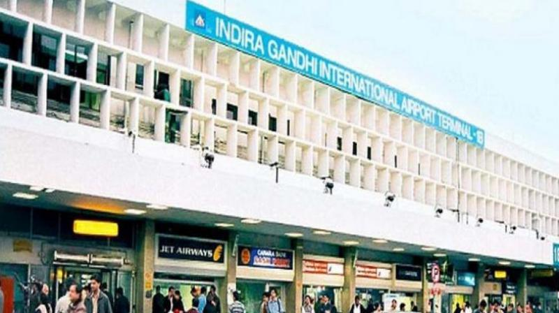 New Delhi's Indira Gandhi International Airport has jumped six notches to break into the league of the top 20 busiest airports.
