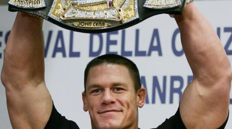 Cena also asserted that he is healthy and fine, his wrapping up of the wrestling career isn't due to any injury. (Photo: AFP)