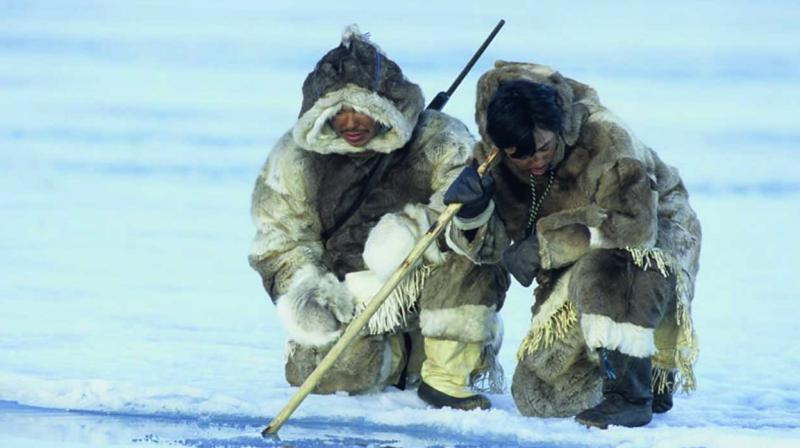 Speculation has abounded since Inuit hunters in the village of Igloolik heard the beep several times off the Fury and Hecla Straight in late 2016.