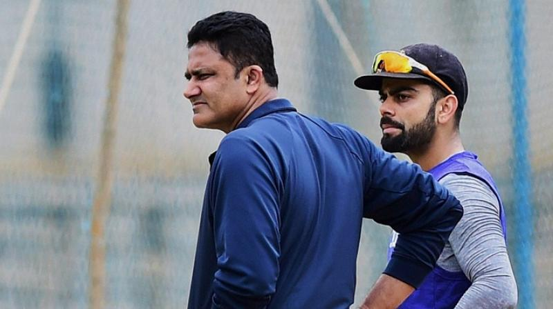 It was reported that all is not well between Team India captain Virat Kohli and coach Anil Kumble. (Photo: PTI)