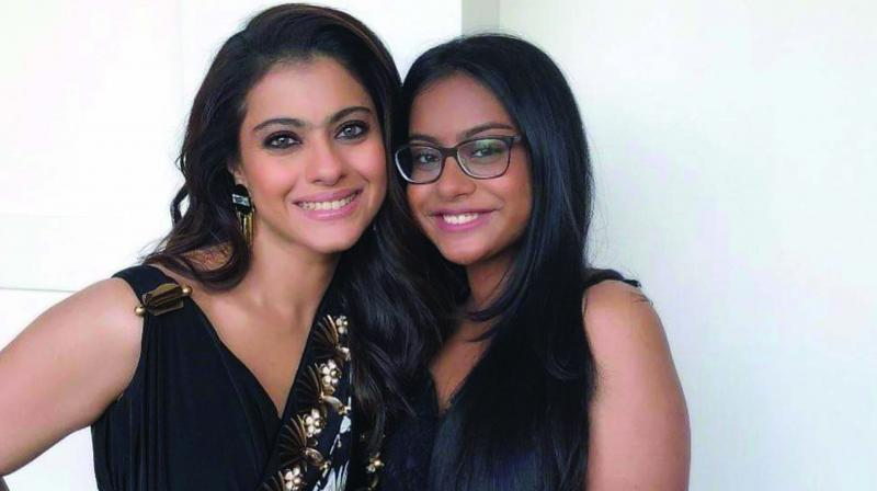 Kajol and her daughter Nysa