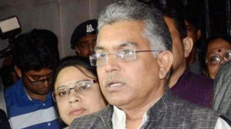 West Bengal BJP President Dilip Ghosh. (Photo: File)