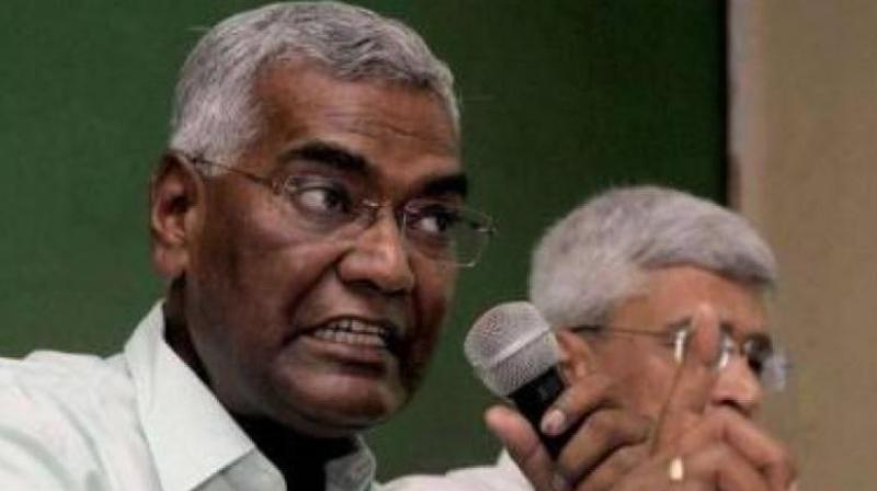 It should be condemned and appropriate action should be taken against the attacker,' CPI National secretary D Raja told PTI. (Photo: File | PTI)