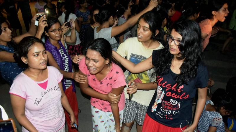 A number of students were hurt when clashes broke out between the police and students of the BHU after the students started protesting against alleged molestation of a girl. (Photo: File | PTI)