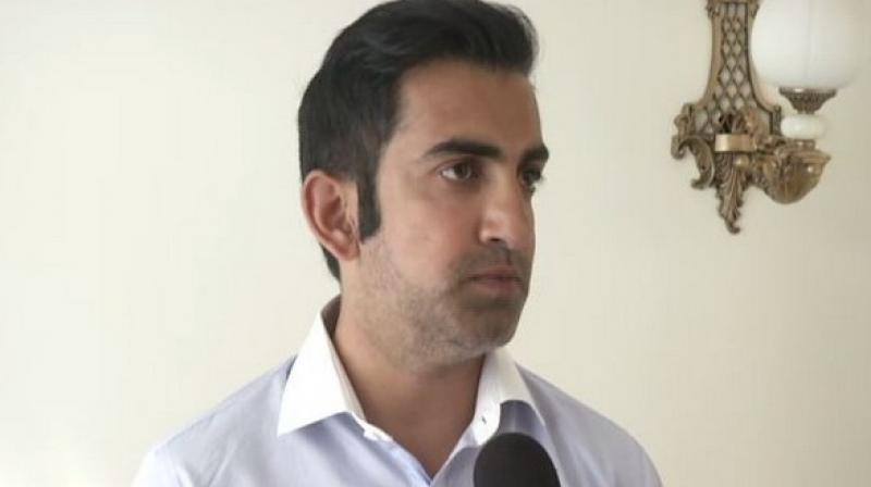 Commenting on the row related to former Pakistan cricketer Danish Kaneria, BJP lawmaker Gautam Gambhir said this is the real face of Pakistan and it is a shame that a player who has represented the country in so many matches had to go through this. (Photo: File)