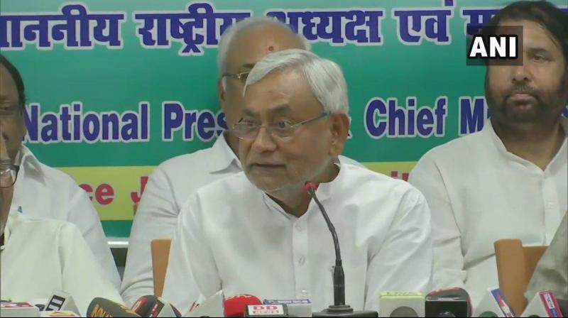 Bihar CM Nitish Kumar gave directions to convert Sri Krishna Medical College & Hospital (SKMCH) into a 2500-bed hospital (currently 610 beds), & 1500 beds should be arranged immediately in the 1st phase. (Photo: ANI)