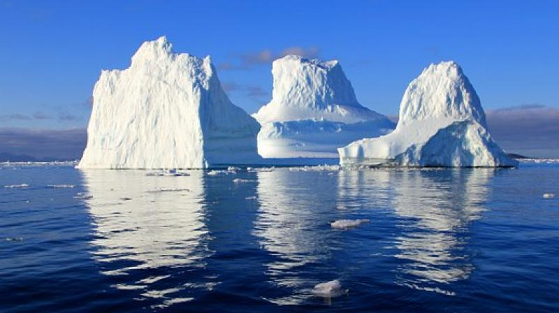 Arctic sea-ice neared record lows in September and October, and Antarctica also saw record low ice several times this year.