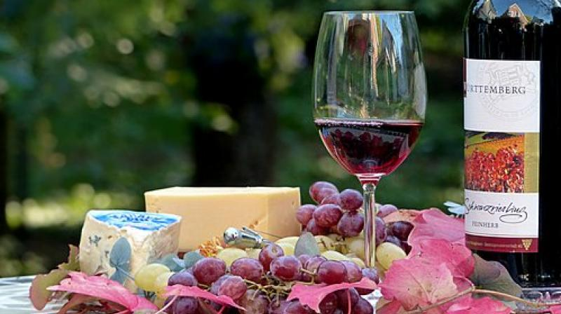 Resveratrol displayed neuroprotective effects against corticosterone by inhibiting the expression of PDE4. (Photo: Representational/Pixabay)